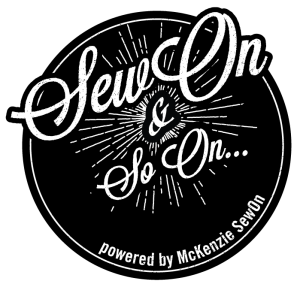 SewOn & So On... McKenzie SewOn blog logo