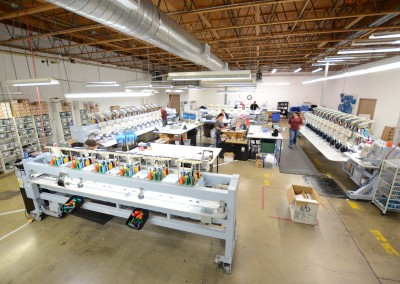McKenzie SewOn Embroidery Facility 7